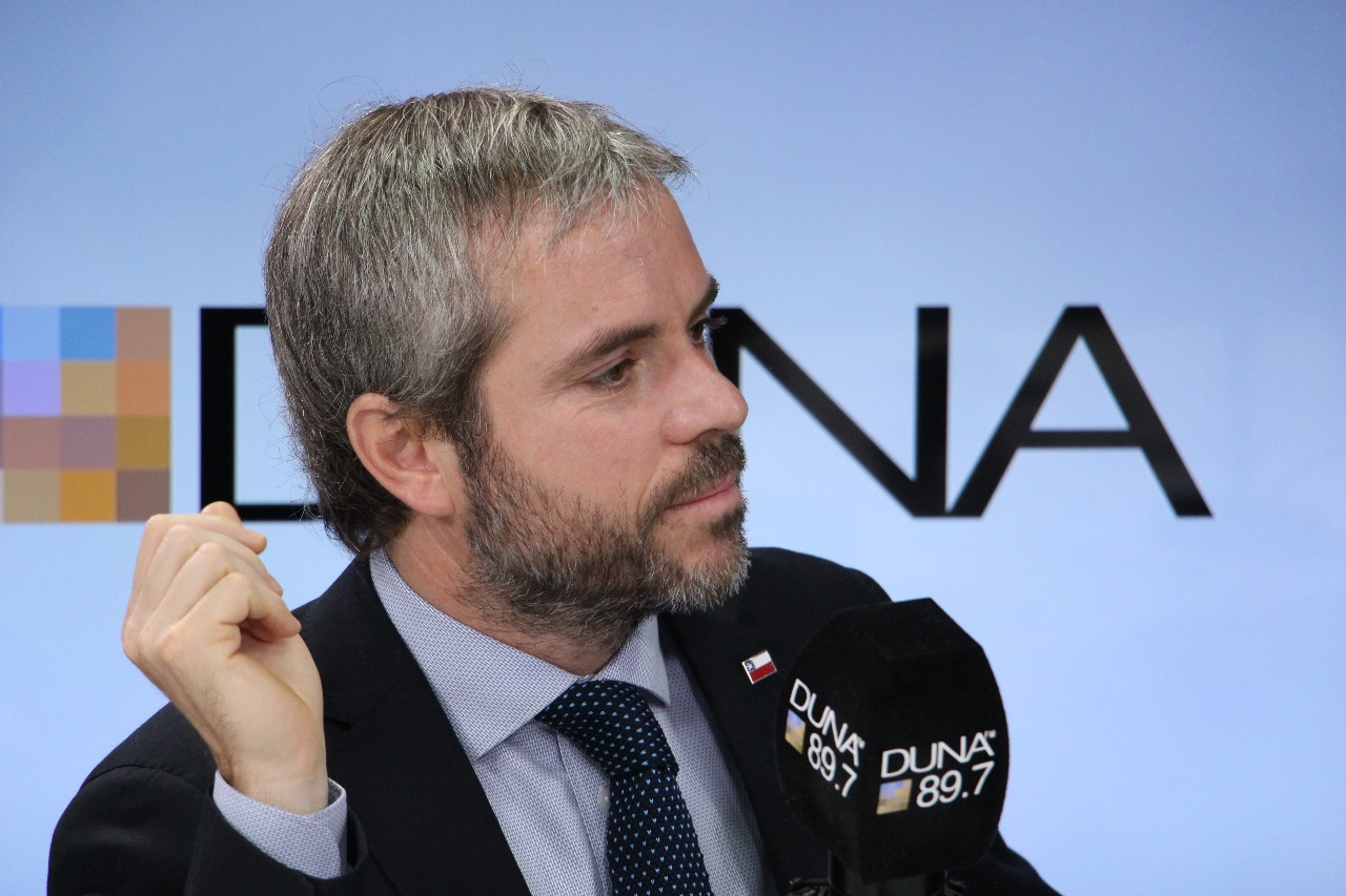 Ministro de la Segpres, Gonzalo Blumel