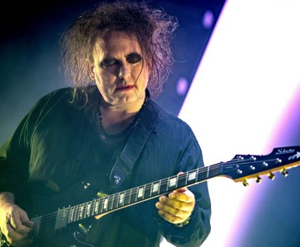 Mandatory Credit: Photo by Valerio Berdini/REX/Shutterstock (7542591j) The Cure - Robert Smith The Cure in concert at Wembley Arena, London, UK - 03 Dec 2016 The Cure on the last date of their world tour 2016, after a year around the world the band closed in style at the Wembley Arena in London /Rex_The_Cure_in_concert_at_Wembley_Arena_Lond_7542591J//1612050900