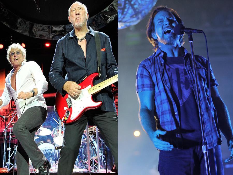 Eddie Vedder y The Who