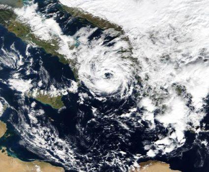 MODIS / NASA Medicanes