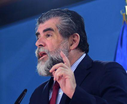 20 de noviembre de 2018/SANTIAGO El subsecretario del Interior, Rodrigo Ubilla, se refiere al respaldo del gobierno al trabajo del intendente de la Araucanía. FOTO: SEBASTIAN BELTRAN GAETE/AGENCIAUNO