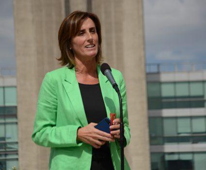 Ministra de Educación, Marcela Cubillos, habla sobre Proyecto de ley de Admisión Justa