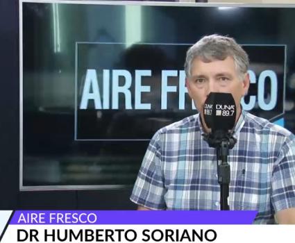 Humberto Soriano por obesidad infantil
