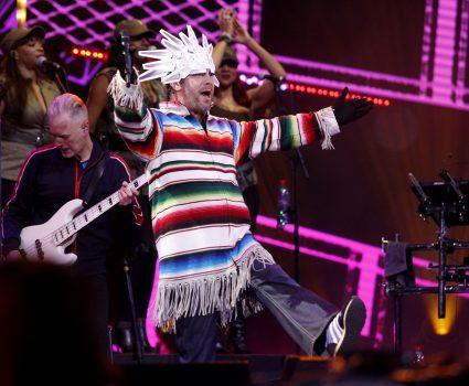 22 de Febrero del 2018/VIÑA DEL MAR El Cantante Británico Jamiroquai, durante la la Tercera noche de la 59 versión del Festival de la Canción de Viña del Mar 2018. FOTO: RODRIGO SAENZ/AGENCIAUNO