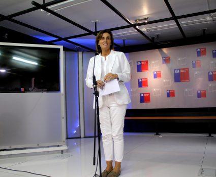 Ministra de Educación, Marcela Cubillos