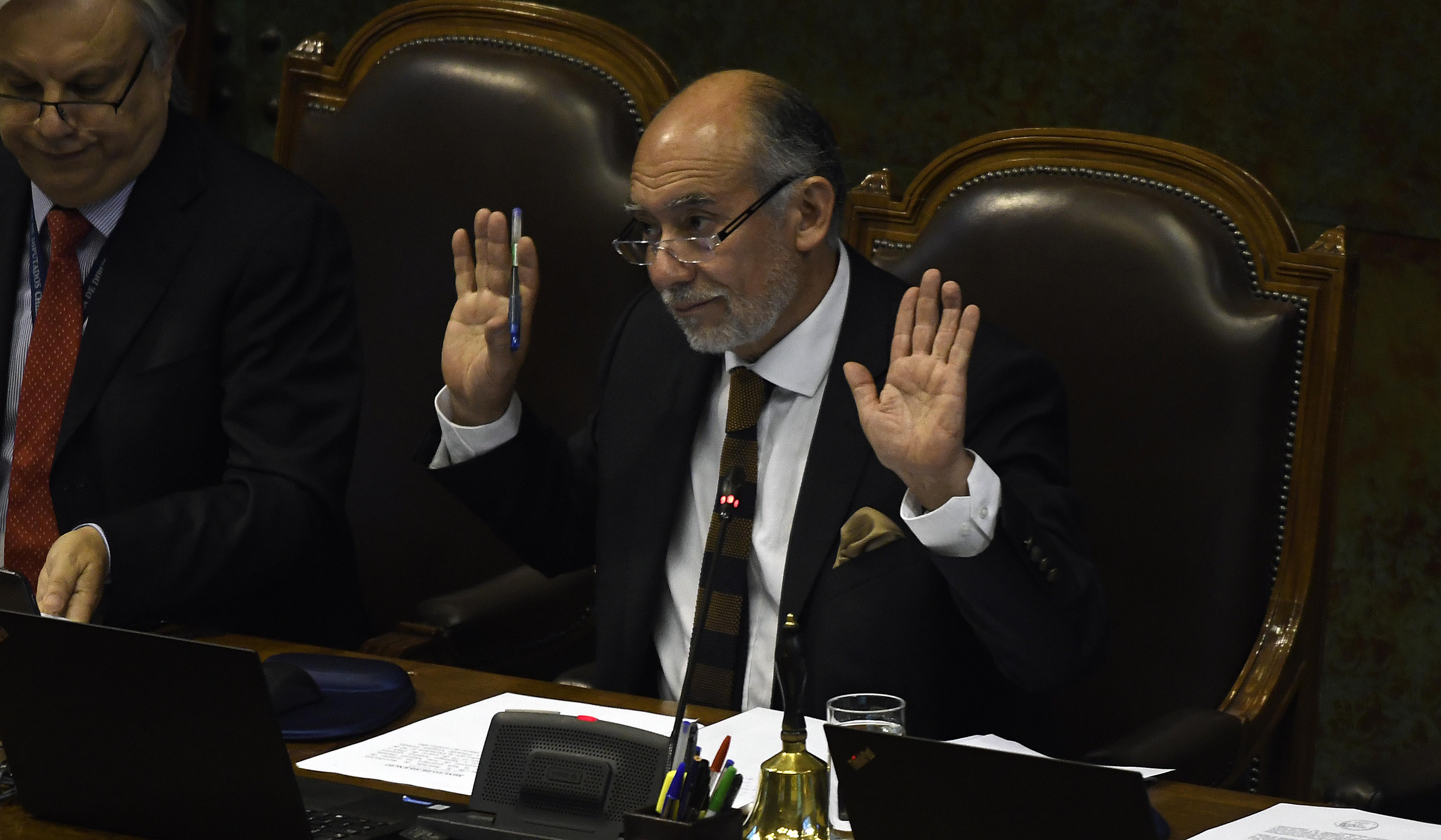 Iván Flores, presidente de la Cámara de Diputados