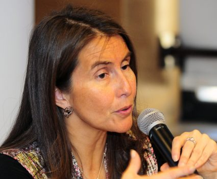 Ximena Clarck, ex directora del INE