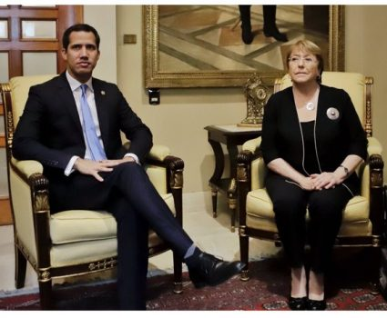Bachelet-guaidó