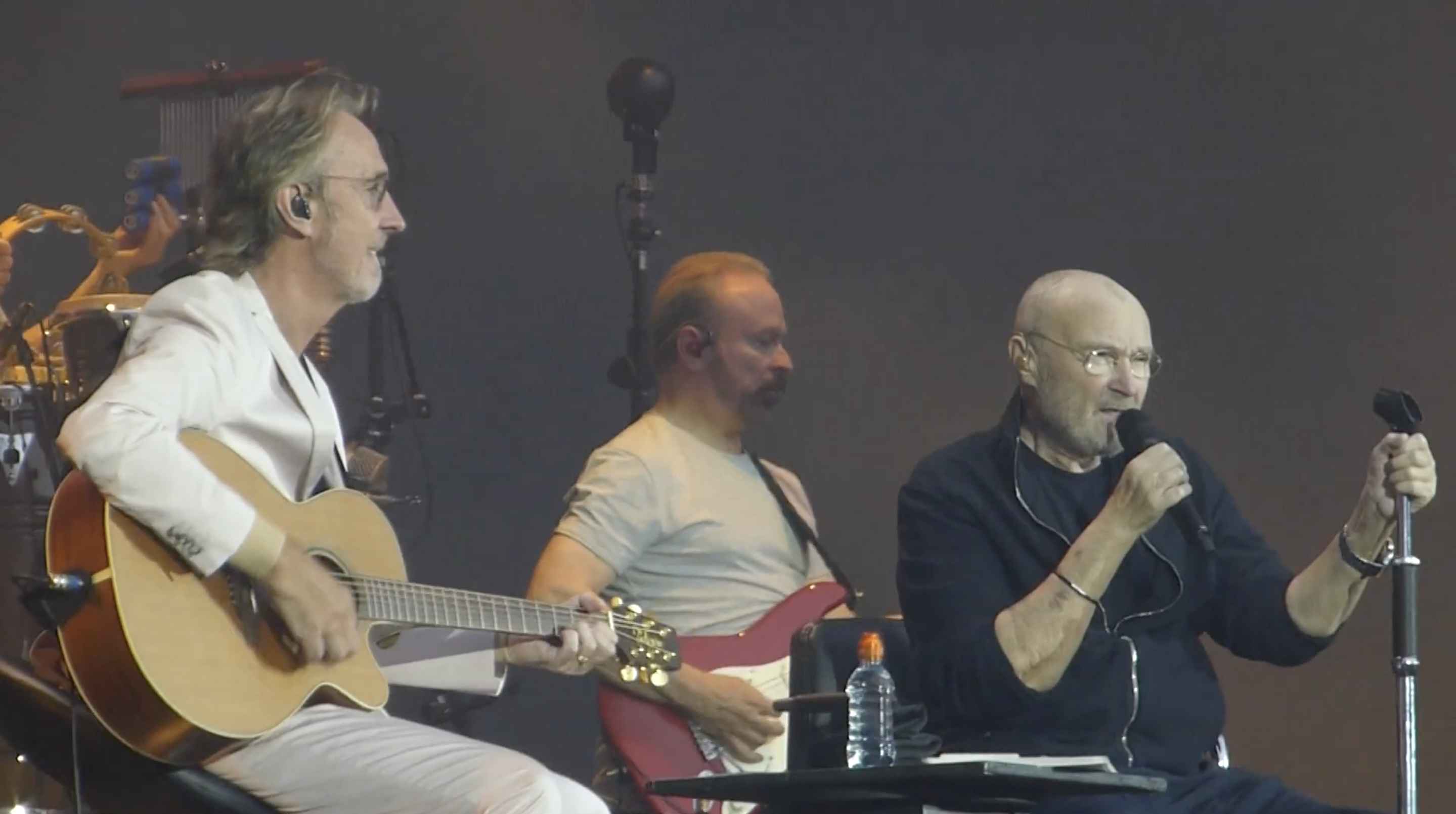 phil Collins y mike