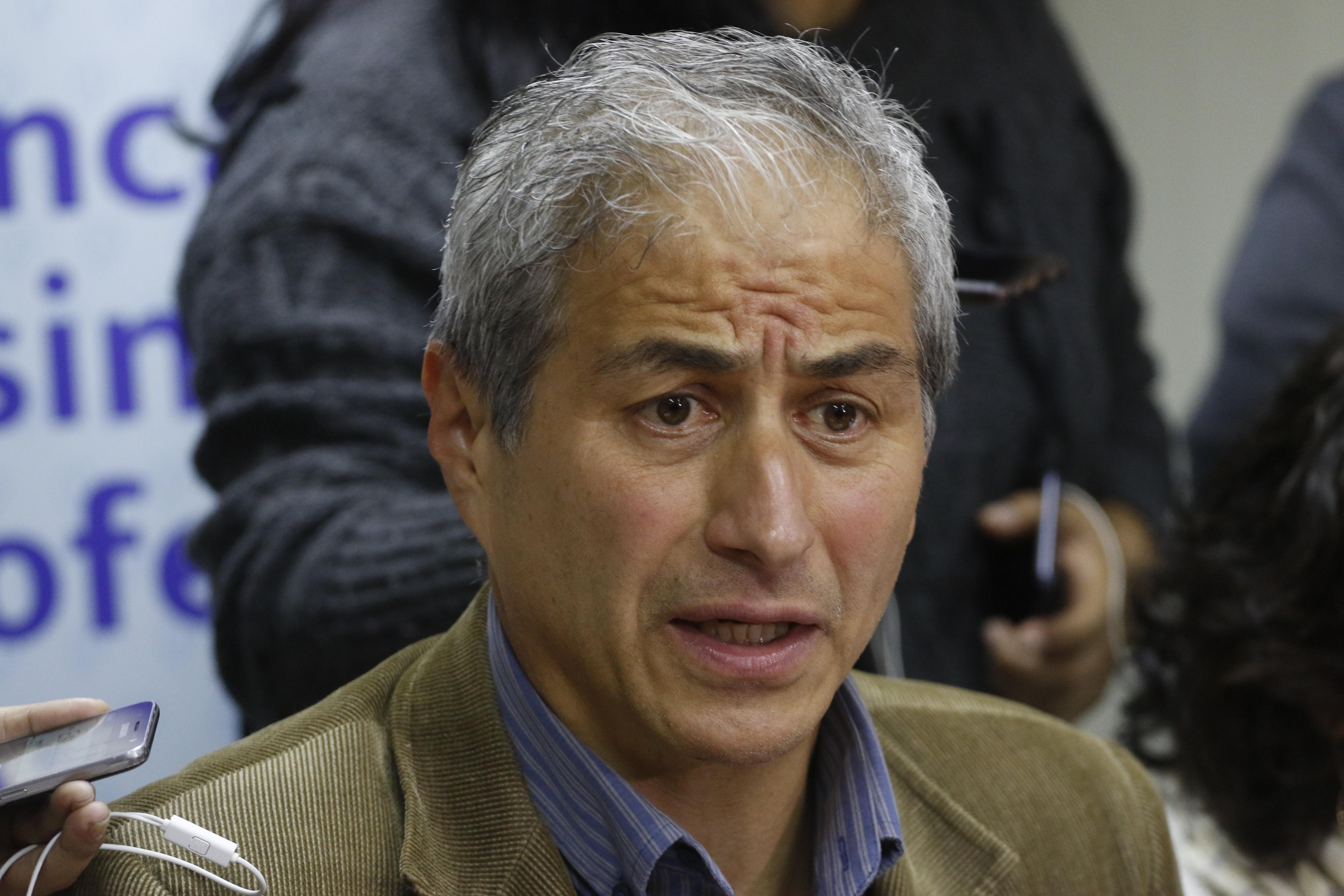 Presidente Colegio de Profesores, Mario Aguilar por paro