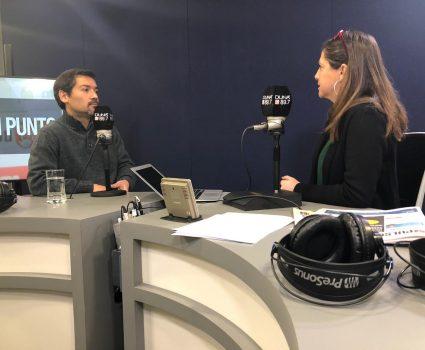 Vocero de los denunciantes jesuitas, Daniel Palacios