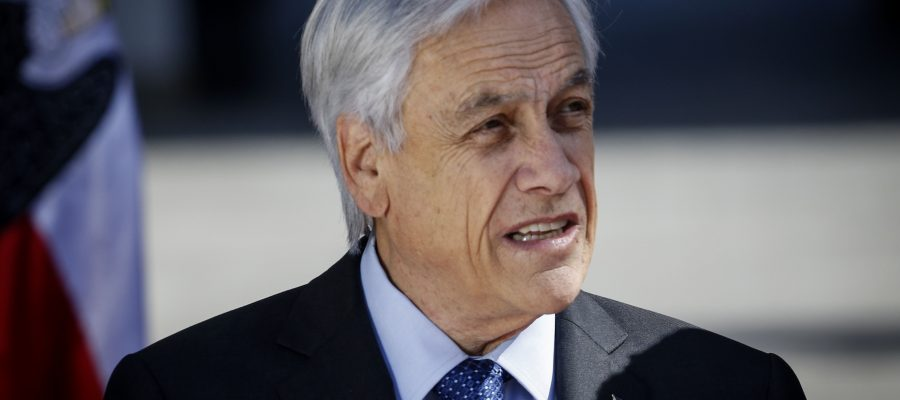 Sebastián Piñera marcha