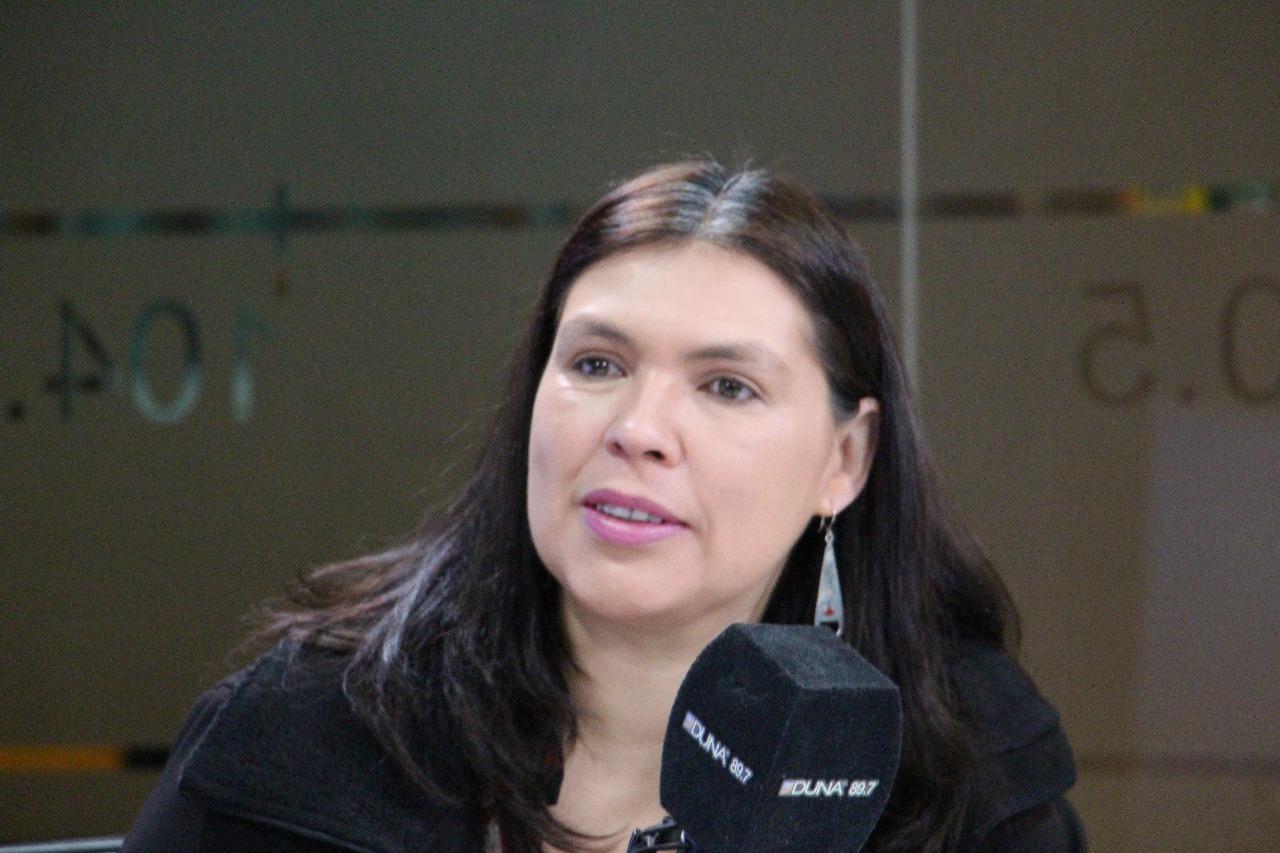 Barbara Figueroa, presidenta de la CUT