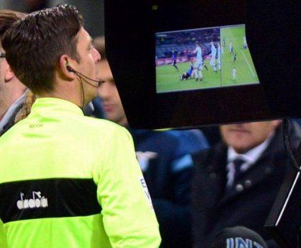 Tecnología VAR en el fútbol