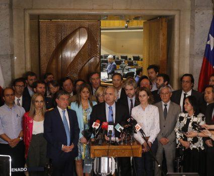 Andrés Chadwick aprobación de la acusación constitucional