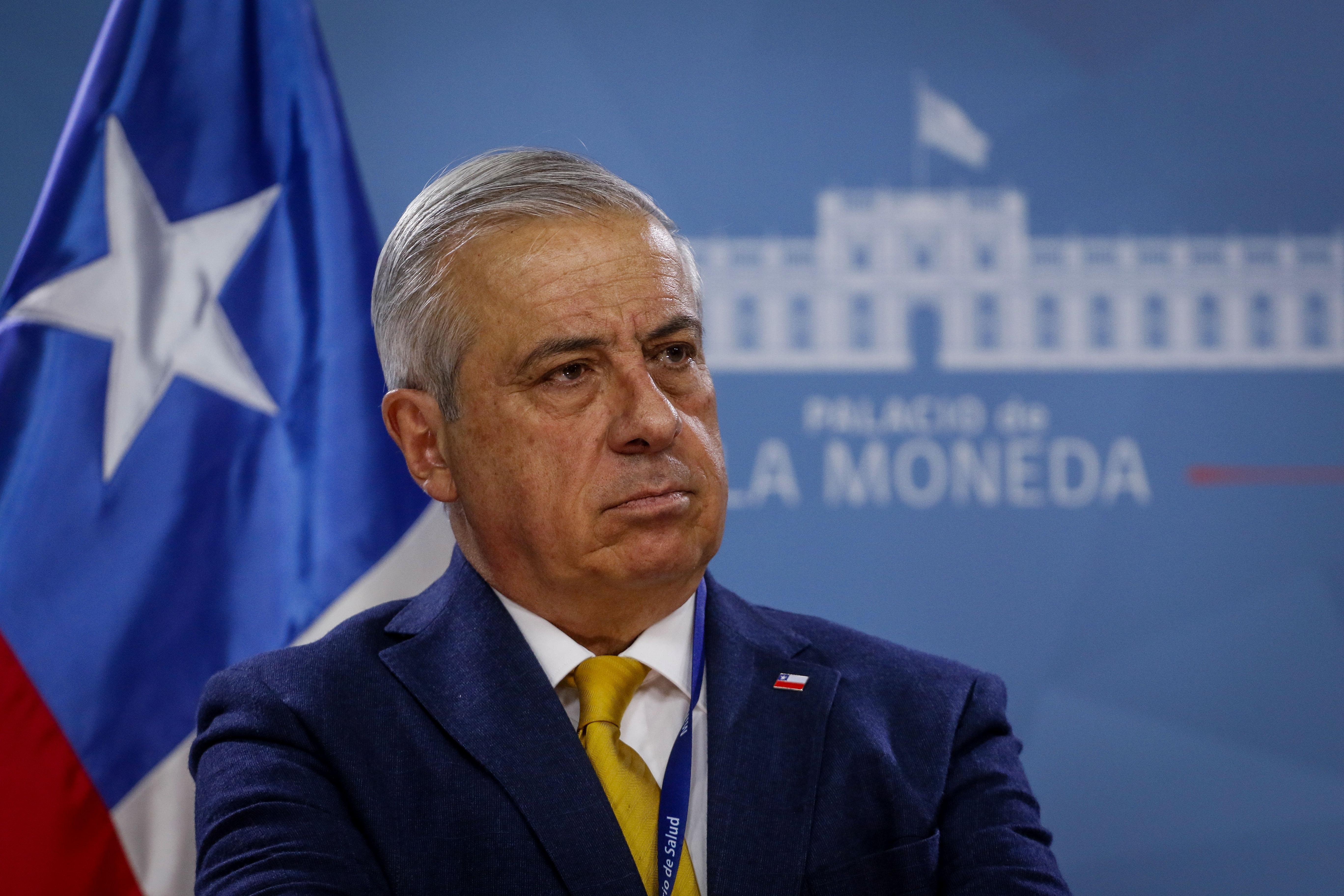 Jaime Mañalich, ministro de Salud