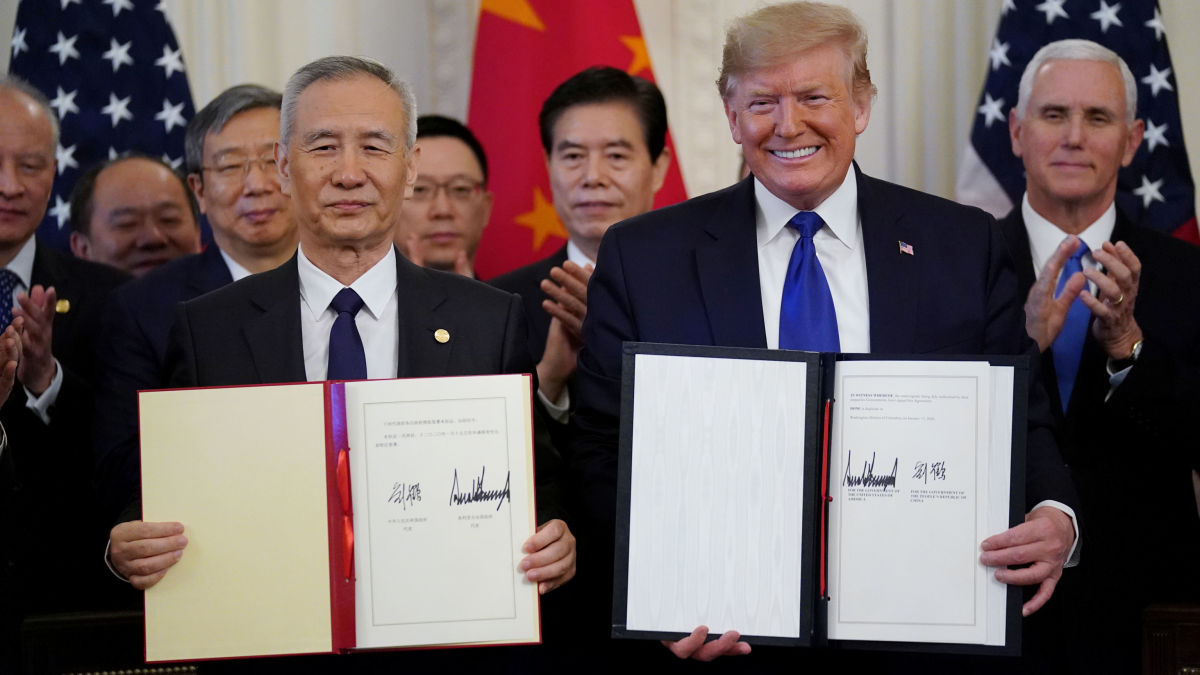 Acuerdo comercial EE.UU y China