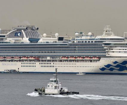 El crucero Diamond Princess. (Foto: AFP)
