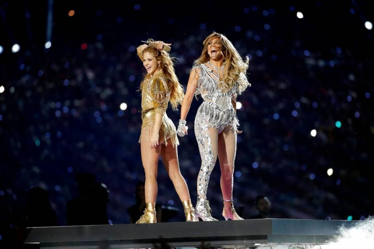 Shakira y Jennifer López AP