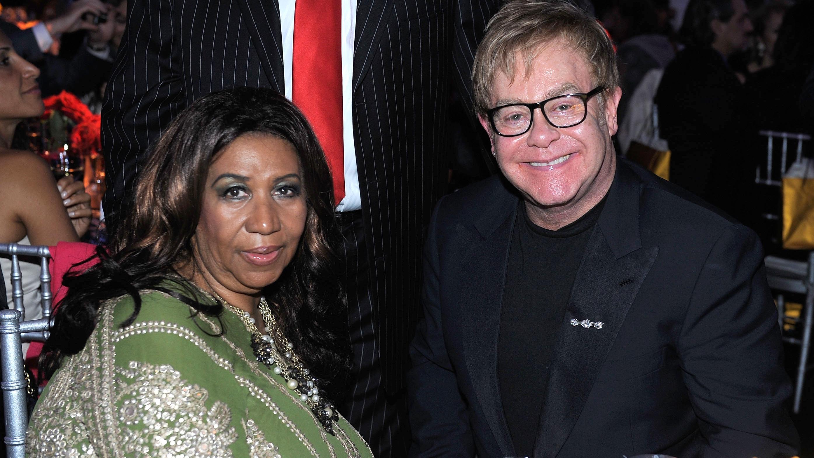 Elton y Aretha