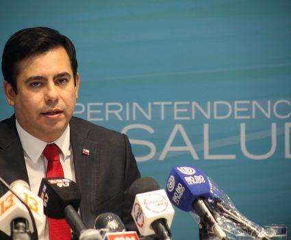 Superintendente de Salud, Patricio Fernández