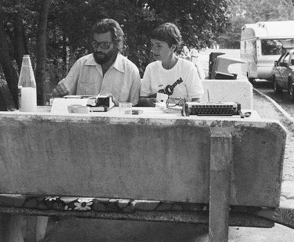 Julio Cortázar y Carol Dunlop