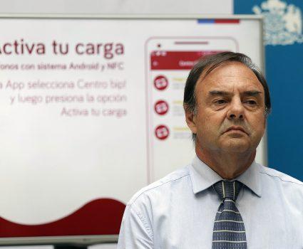 Subsecretario de Transportes, José Luis Dominguez