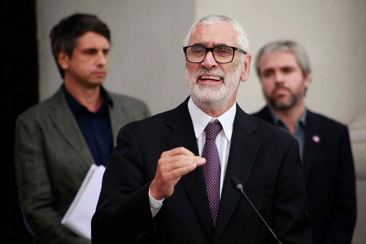 Fernando Leanes representante de la OPS/OMS