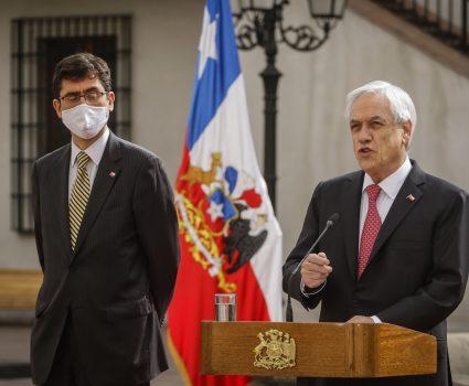 Presidente Sebastián Piñera anuncia la entrega del Bono Invierno