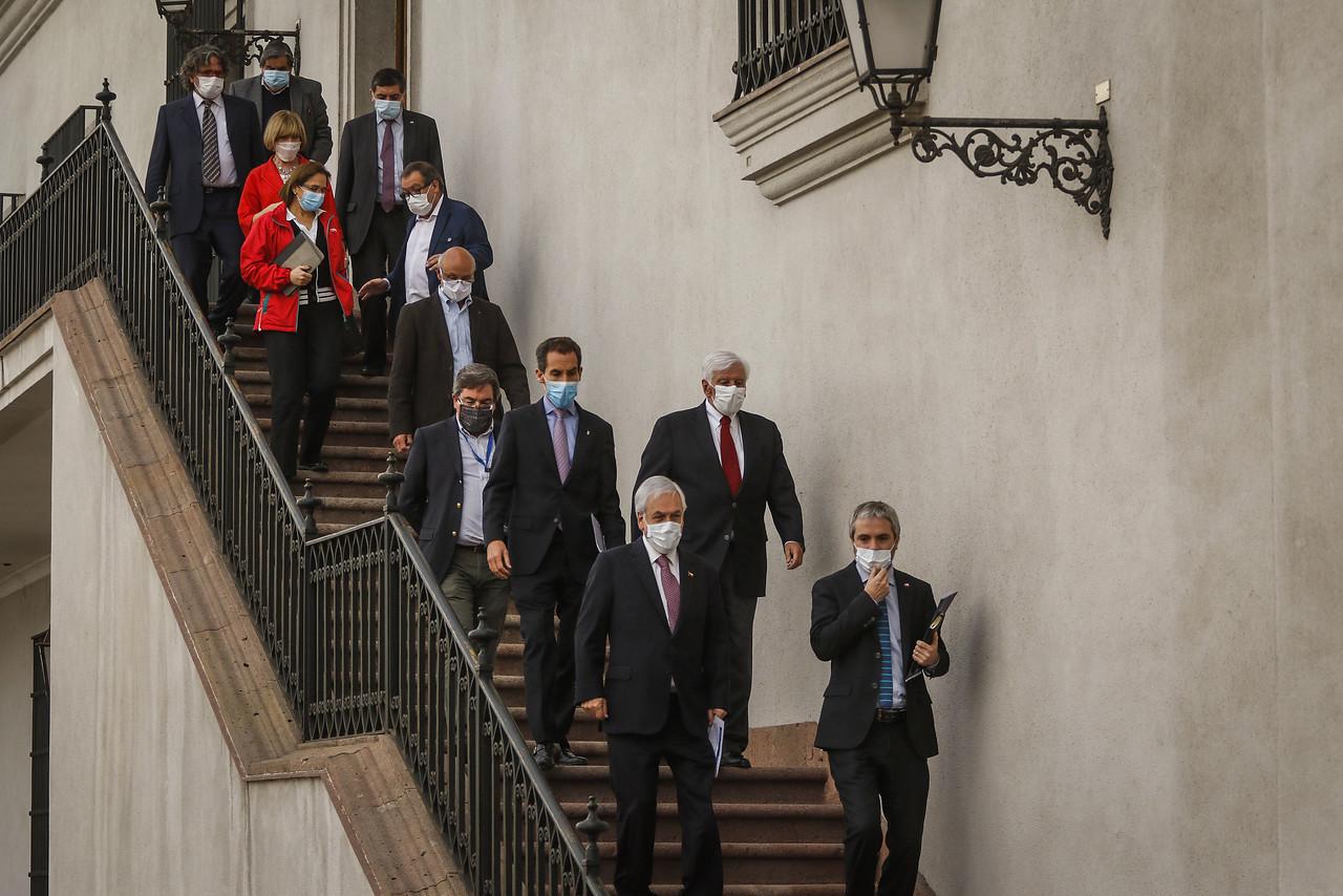 Presidente y reunión con los alcaldes