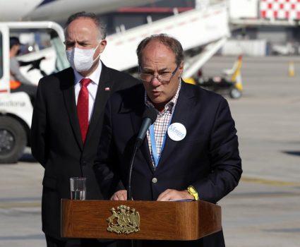 Juan Sutil, presidente de la CPC y llegada de ventiladores