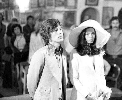 Mick y Bianca Jagger