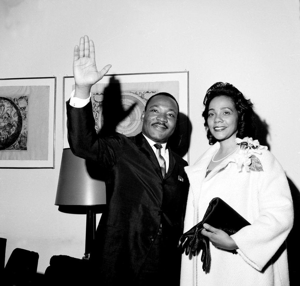 Martin Luther King y Coretta Scott
