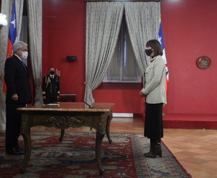 Mónica Zalaquett, nueva ministra de la Mujer
