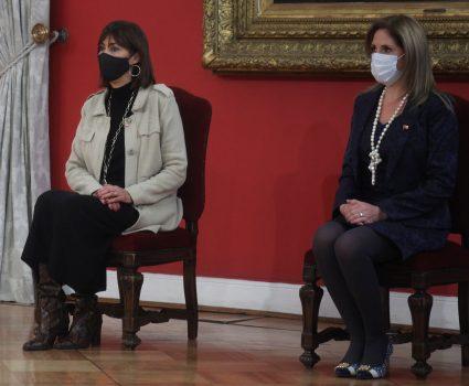 Mónica Zalaquett y Macarena Santelices