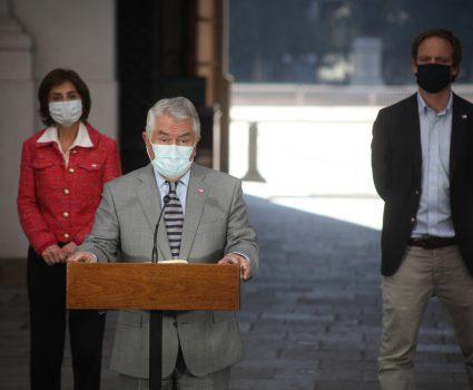 Enrique Paris, nuevo ministro de Salud