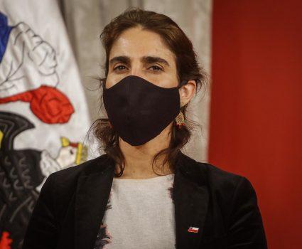 María José Zaldívar, ministra del Trabajo