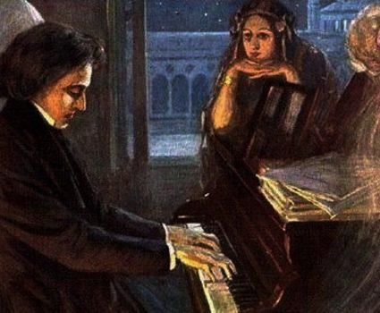 George Sand y chopin