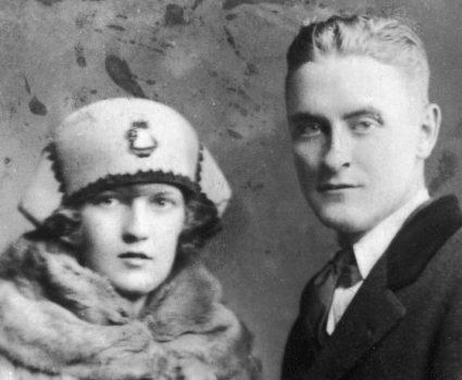 Scott Fitzgerald y Zelda Sayre