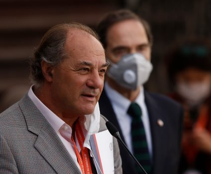 Juan Sutil, presidente del CPC