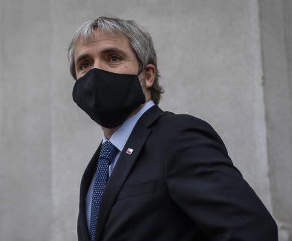 Gonzalo Blumel, ministro del Interior