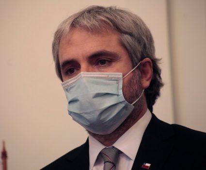 Gonzalo Blumel, ministro de Interior