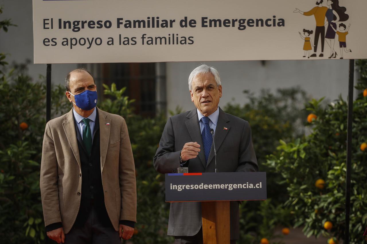 Sebastián Piñera por IFE