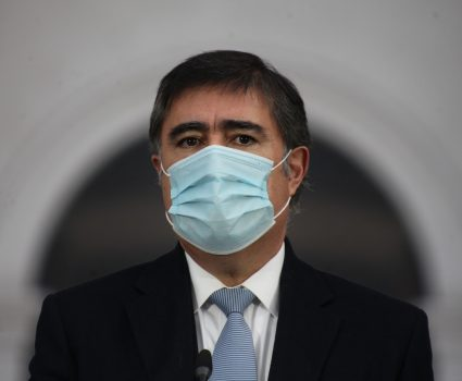 Mario Desbordes, presidente de RN y retiro del 10%