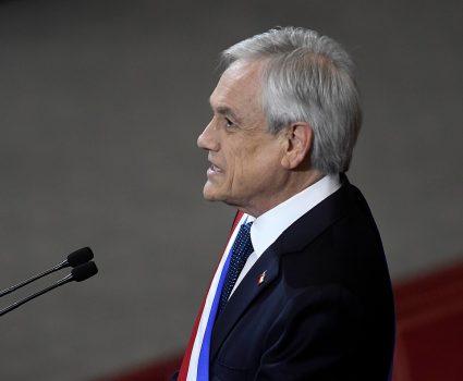 Sebastián Piñera por plan protección clase media