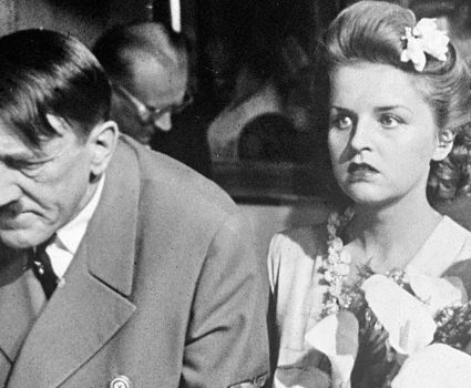 Adolph Hitler y Eva Braun