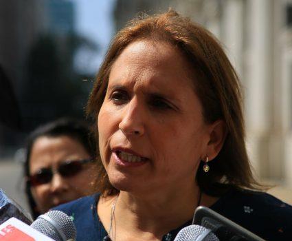 Alcaldesa de Peñalolén, Carolina Leitao