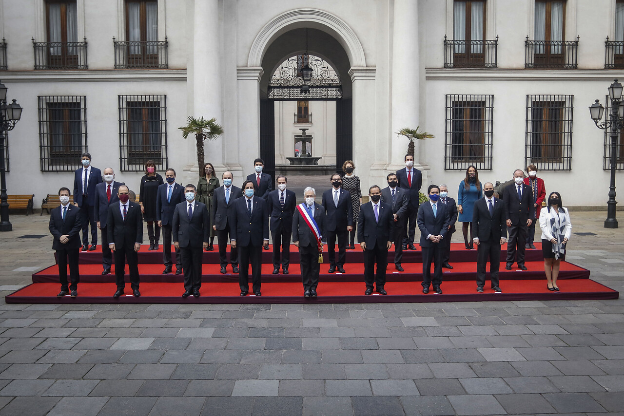 Piñera y su gabinete