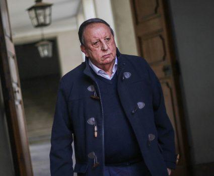 sergio pérez, presidente de la Confederación Nacional de Transporte de Carga de Chile