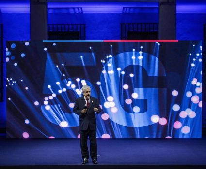 Presidente Sebastián Piñera y red 5G